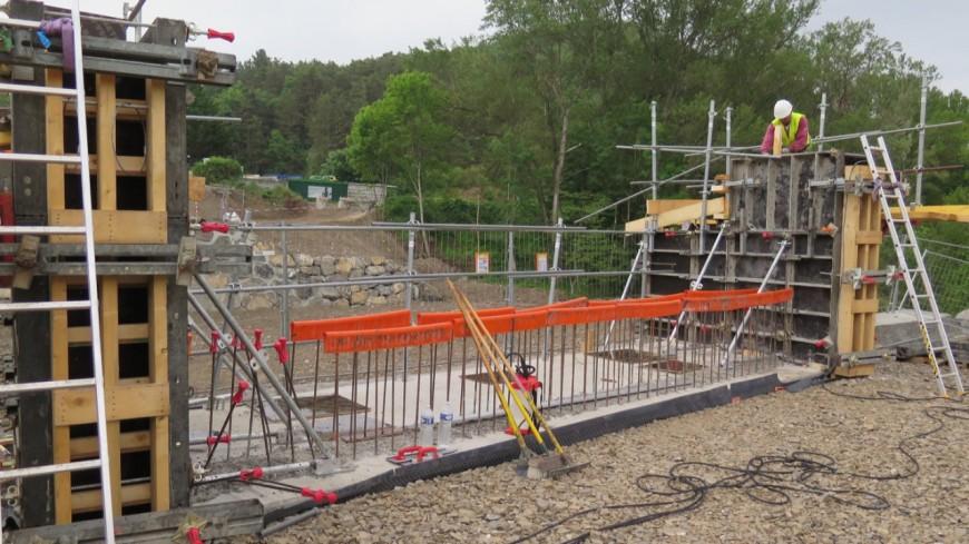 Hautes-Alpes : un nouveau pont sur le Buëch pour fluidifier la circulation