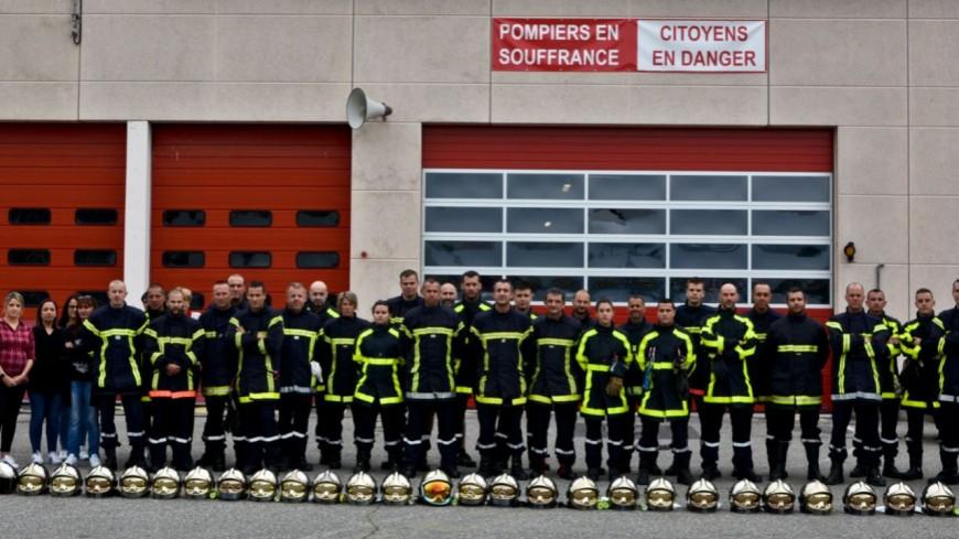 Alpes de Haute-Provence : « écoutés » mais pas « entendus », les pompiers mobilisés