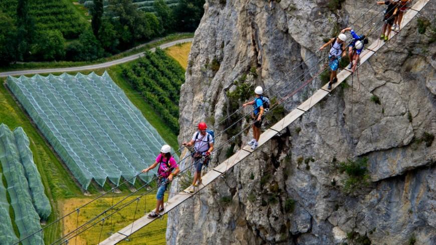 Alpes de Haute Provence : une nouvelle Via Ferrata au Caire