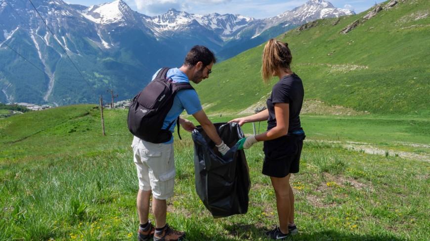 Hautes-Alpes : une demi-tonne de déchets récoltée à Orcières