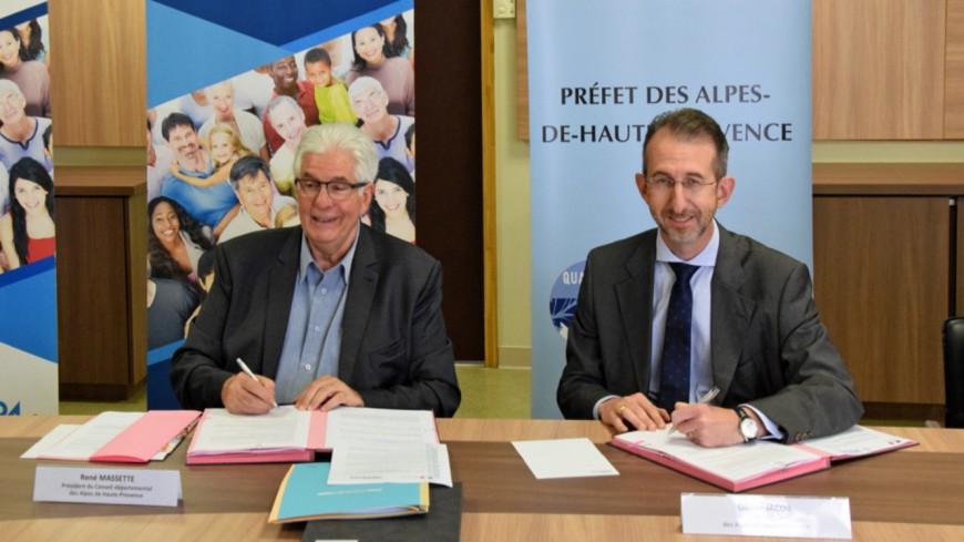 Alpes de Haute-Provence: une convention pour prévenir et  lutter contre la pauvreté