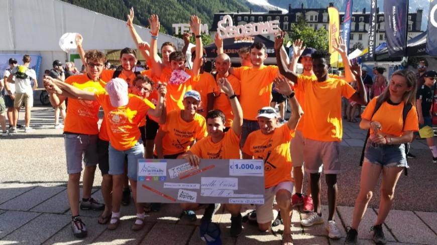 Hautes-Alpes : 1.000 euros pour l'association Vaincre les Maladies Lysosomales