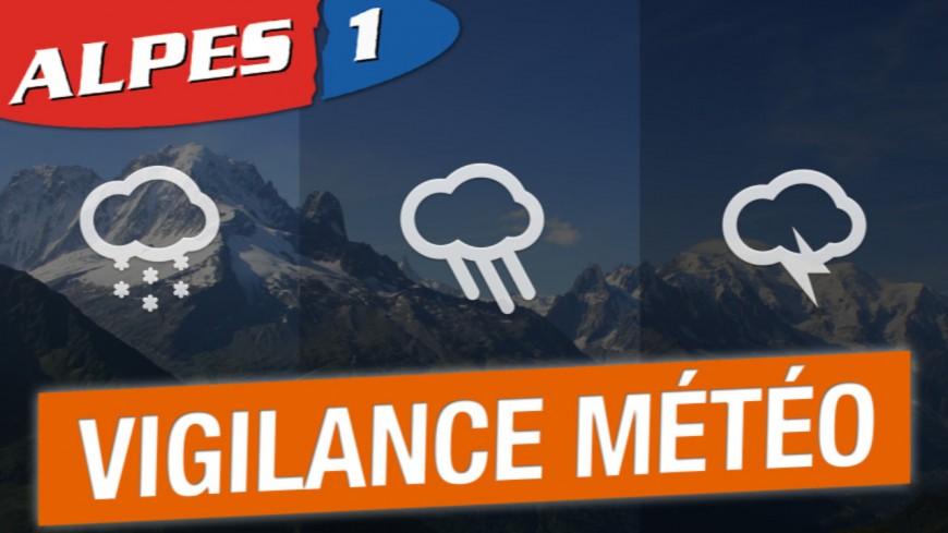 Alpes du Sud : vigilance orange « orages » ce mardi soir