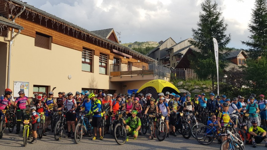Hautes-Alpes :  520 participants à la rando d'Eterlou