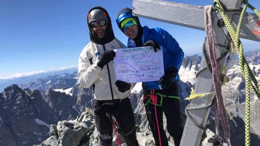 Hautes-Alpes : ils finissent leur parcours de la lavande à la glace