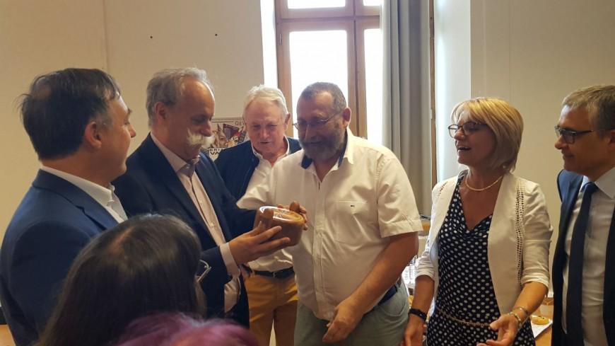 Hautes-Alpes: le Président national des chambres des métiers en visite à Briançon