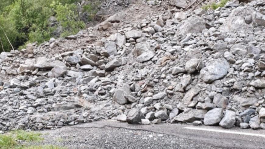 Hautes-Alpes : quatre coulées de boue sur la RD 1091