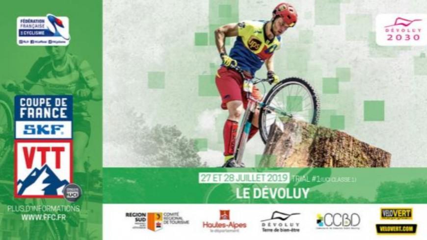 Hautes-Alpes : la coupe de France de VTT Trial a lieu ce week-end à Superdévoluy