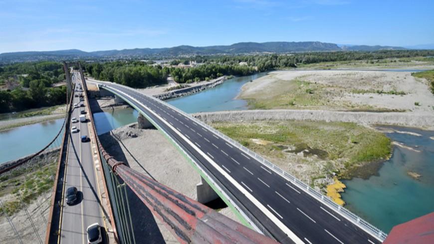 Alpes de Haute-Provence : le Pont sur la Durance mis en circulation ce vendredi dès 11h00