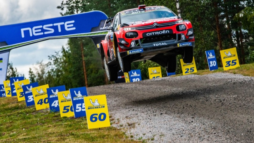 Hautes-Alpes : Ogier termine 5ème du rallye de Finlande