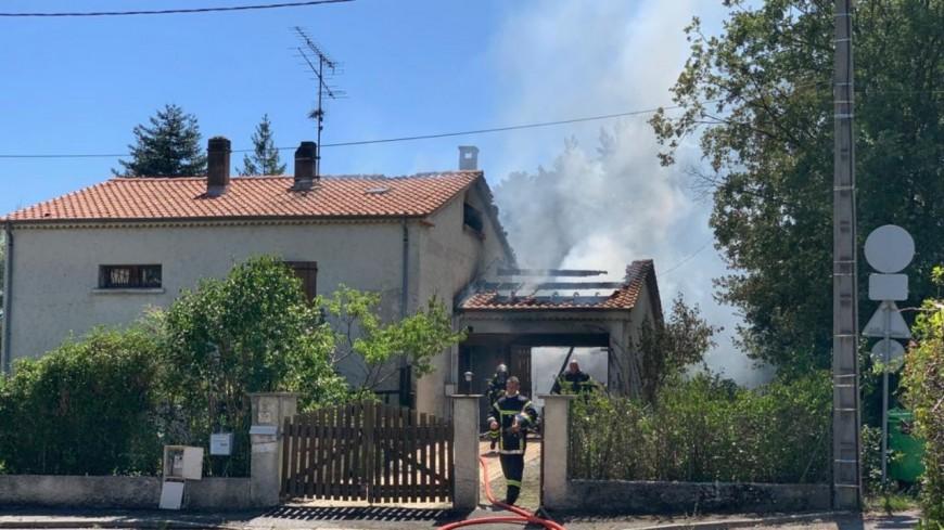 Alpes de Haute Provence :  un incendie ravage le garage d'une maison à Digne-les-bains