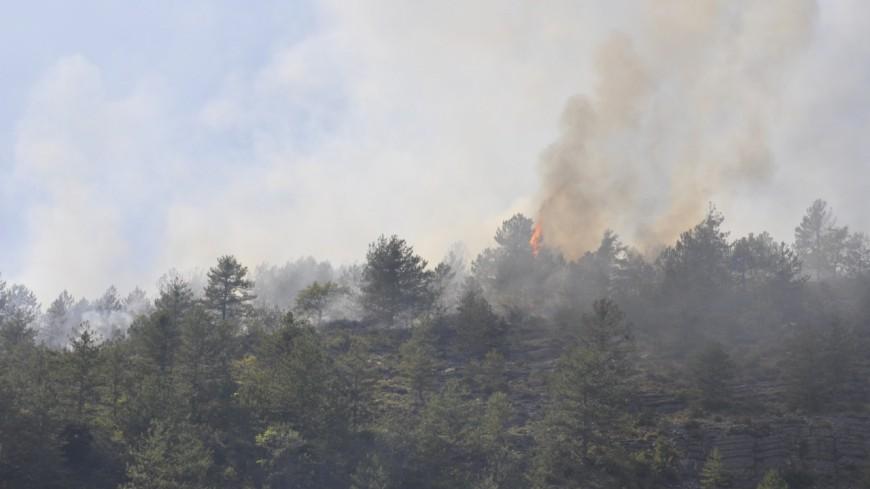 Alpes de Haute Provence :  Le feu à Marcoux est fixé