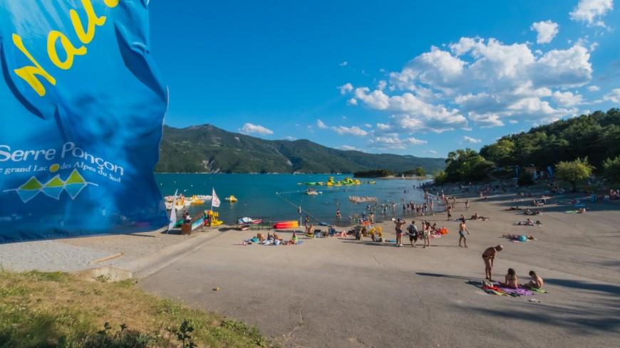 Alpes du Sud : lac de Serre-Ponçon, les activités sont toujours là !