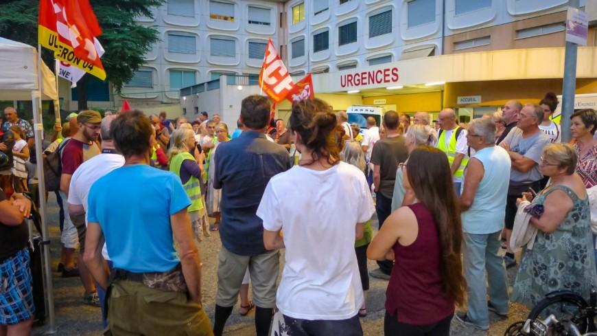 Alpes de Haute-Provence : urgences de Sisteron, la 9ème mobilisation sera décisive