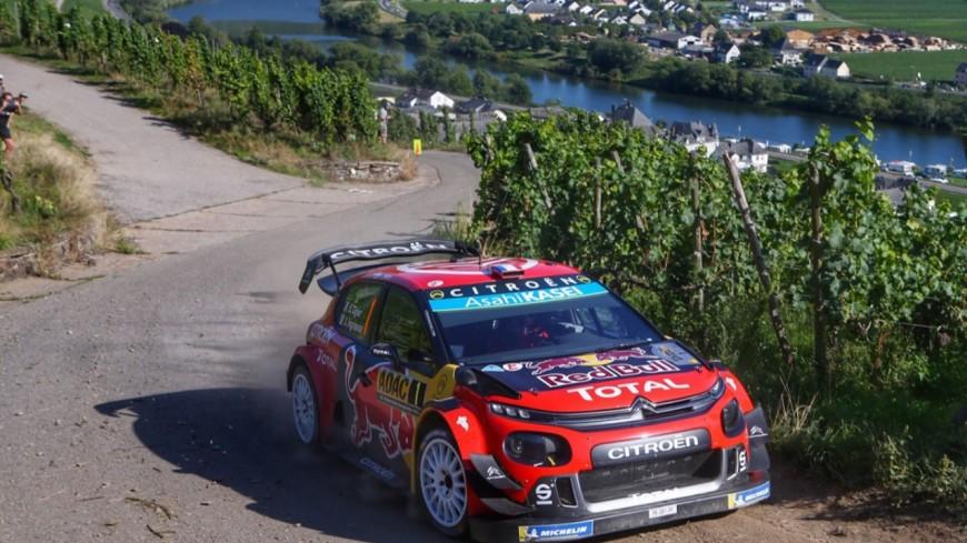 Hautes-Alpes : Ogier 3ème pour l'instant au Rallye d'Allemagne