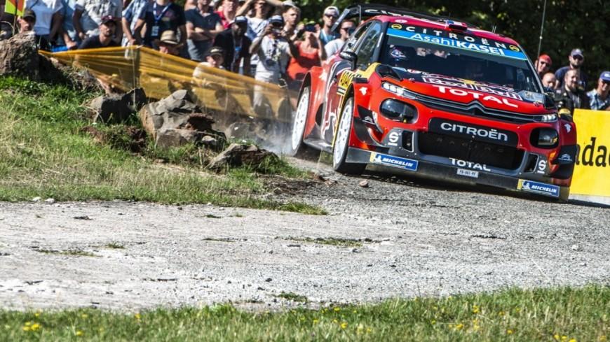 Hautes-Alpes : au rallye d'Allemagne Ogier rétrograde à la 8ème place