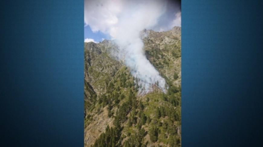 Hautes-Alpes : (MAJ) deux canadairs envoyés sur l'incendie de St Firmin