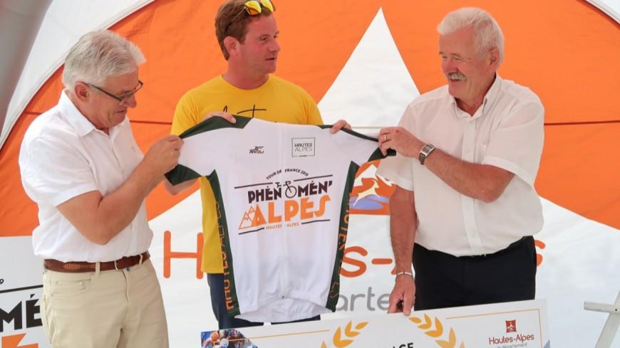 Hautes-Alpes : Tour de France, Monêtier-Allemont récompensée
