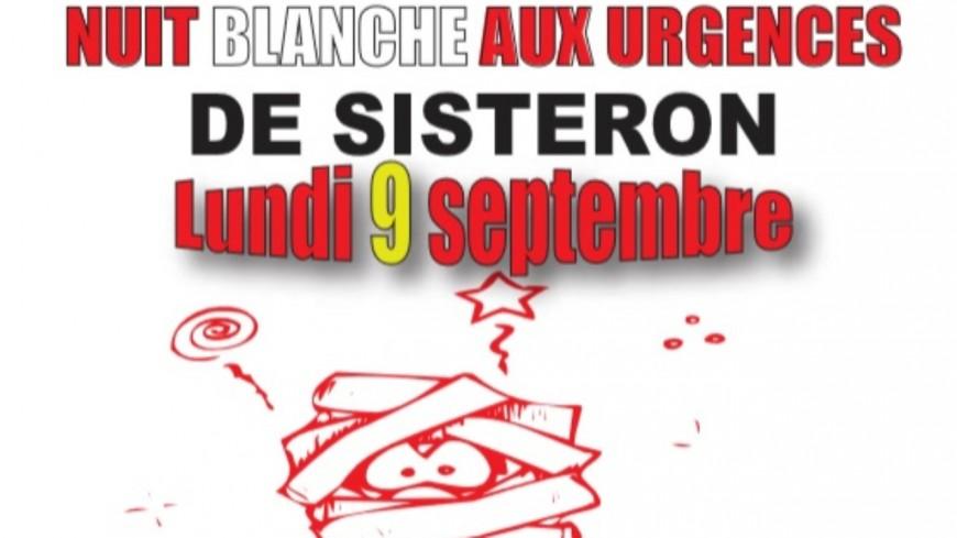 Alpes de Haute-Provence : onzième mobilisation lundi devant les urgences de Sisteron