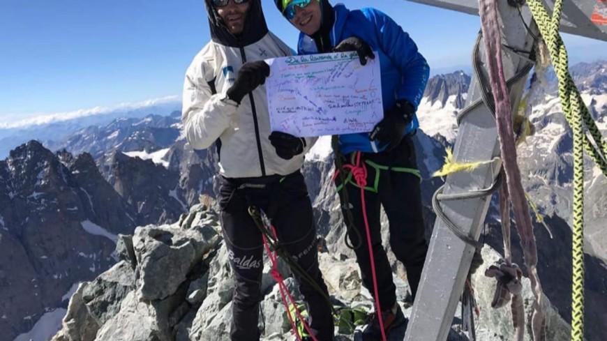 Hautes-Alpes : bientôt un documentaire sur la traversée de Stéphane Ricard et Nicolas Martin