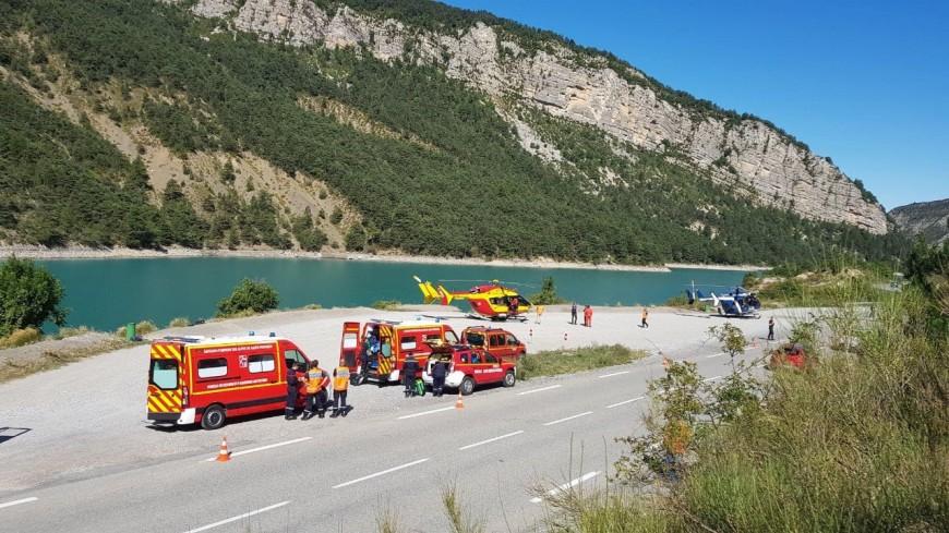 Alpes de Haute-Provence  : un choc frontal fait deux blessés graves