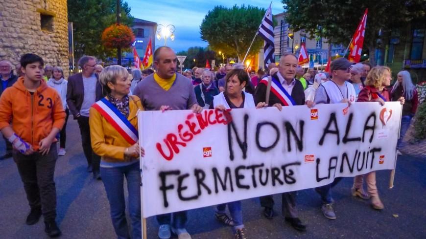 Alpes de Haute-Provence : 60 jours sans urgences la nuit, 60 croix plantées à Sisteron