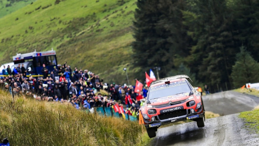 Hautes-Alpes :  Ogier est sur le podium en Grande-Bretagne mais hypothèque une partie de ses chances pour le titre