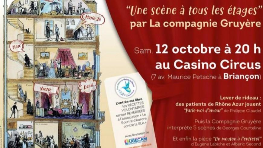Hautes-Alpes : soirée théâtre au bénéfice de l'association « Le Sourire d'Aurore contre la SLA »