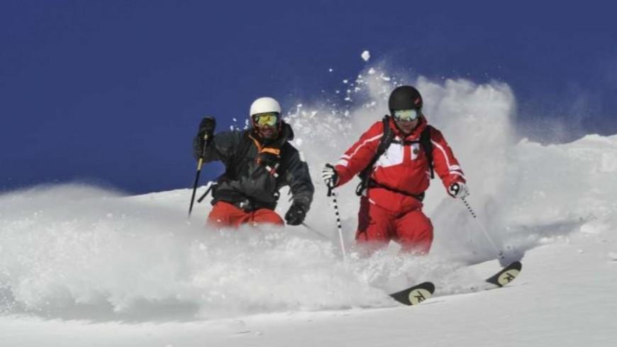 Hautes Alpes : P.Boyer et J.Giraud en soutien aux moniteurs de ski occasionnels