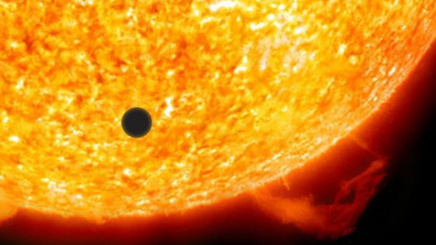 À Saint-Véran le soleil a rendez-vous avec Mercure — Alpes