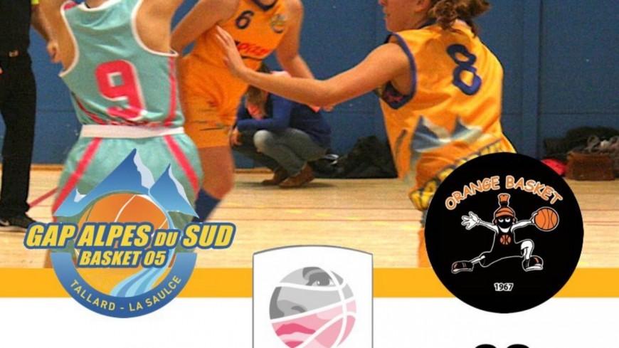 Hautes-Alpes : Basket Ball, les féminines de Gap ont perdu  sur leur terrain contre l'Orange basket