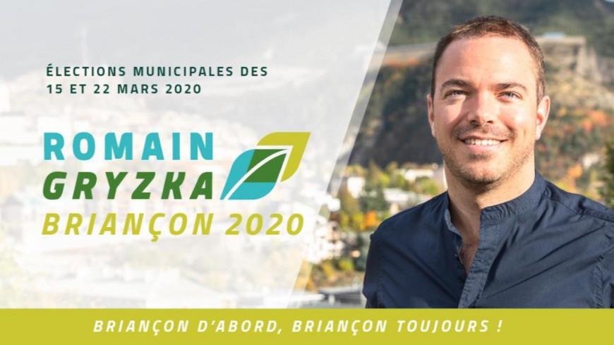 Hautes-Alpes : Romain Gryzka en campagne, il présente un premier document