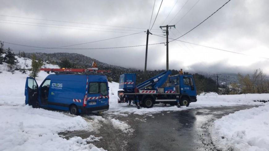 Alpes du Sud : les 22.000 clients privés d'électricité sont désormais réalimentés