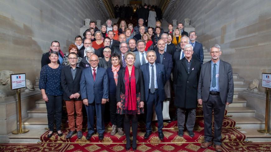 Hautes-Alpes : une délégation d'élus haut-alpins au Sénat