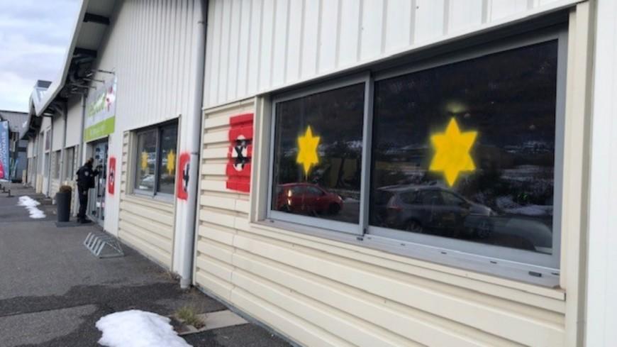 Hautes Alpes : tags antisémites découverts ce mercredi à Briançon