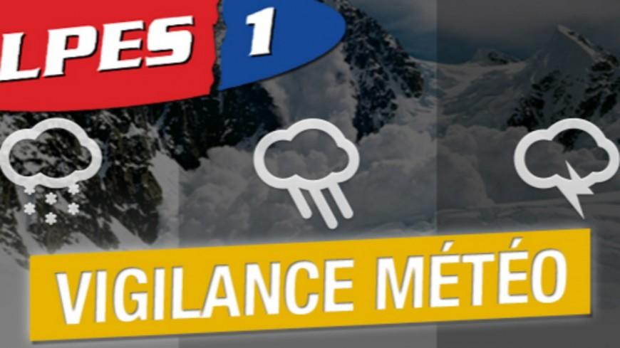 Alpes de Haute Provence : vigilance Jaune «Orages et pluies-inondations » dans le département