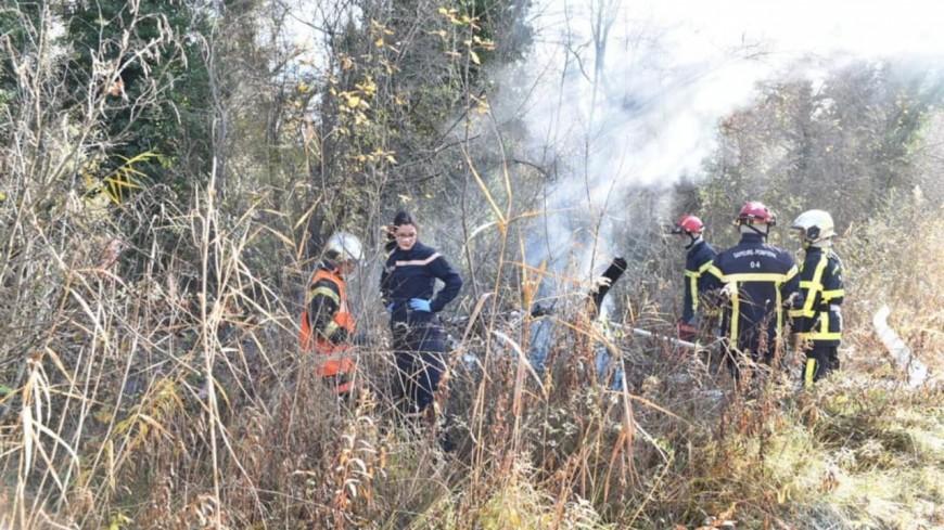 Alpes de Haute Provence :  un homme trouve la mort après la chute de son petit hélicoptère