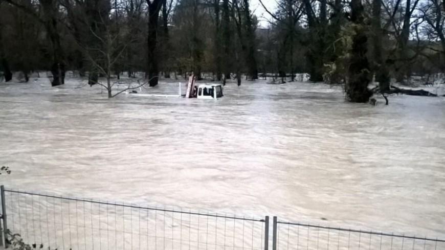 Alpes de Haute Provence :  plusieurs routes coupées, la situation se dégrade