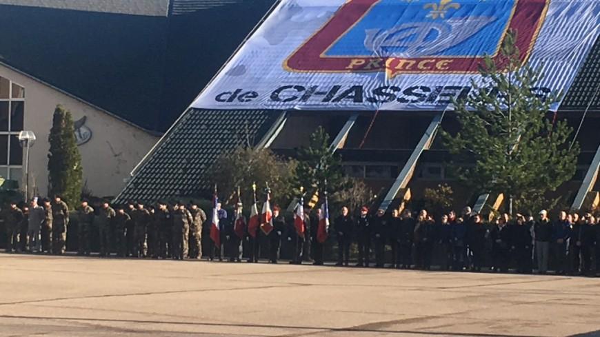 Hautes Alpes : le 4ème RCH honore ses camarades morts au Mali en parallèle de l'hommage national