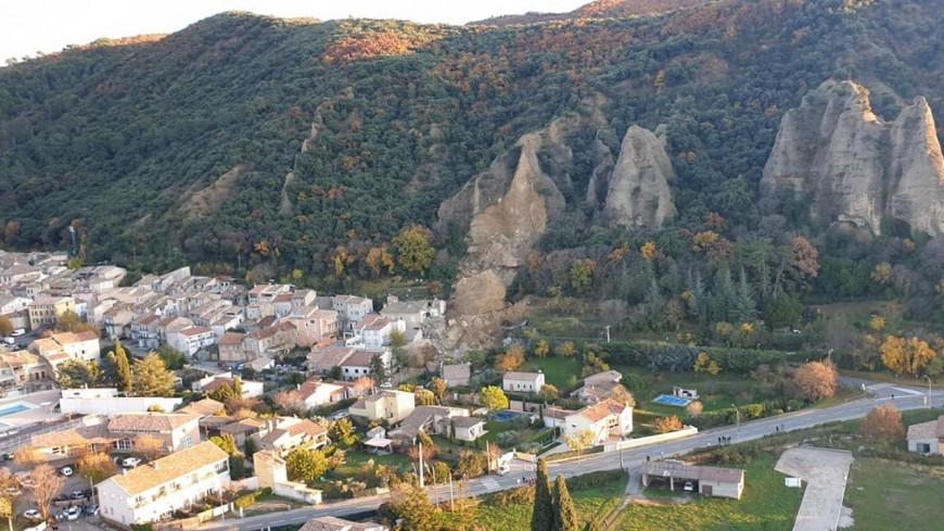 Alpes de Haute-Provence : Les Mées, un bloc menace toujours