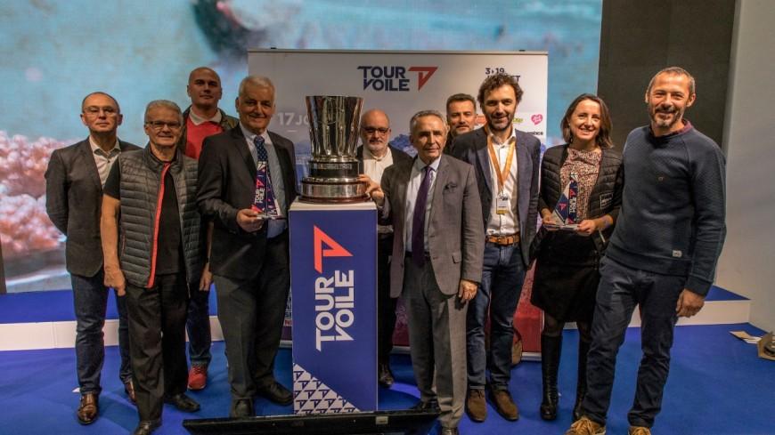 Hautes-Alpes : le tour de France à la voile 2020 fera  étape au Lac de Serre-Ponçon
