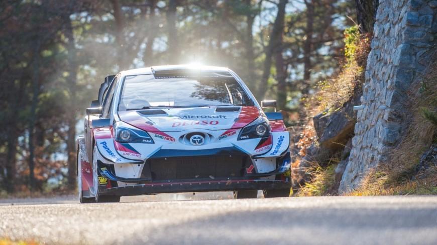 Hautes Alpes : Sébastien Ogier en rodage avec sa nouvelle Toyota