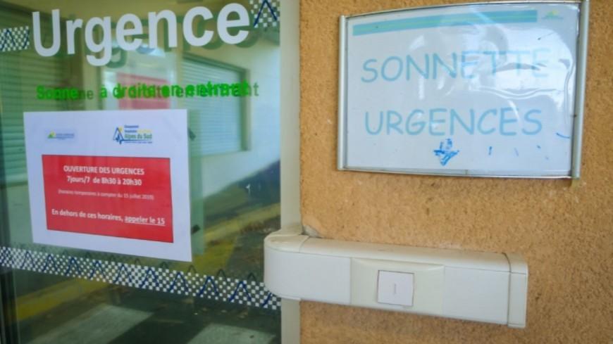 Alpes de Haute-Provence : un rapport propose de rendre légale la fermeture nocturne des urgences