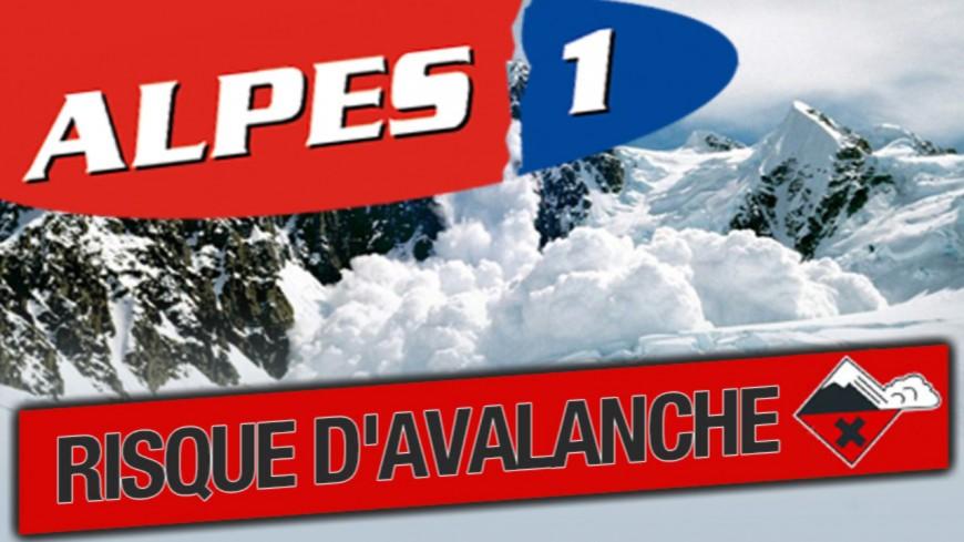 Alpes du Sud : le risque d'avalanche de 4 sur 5