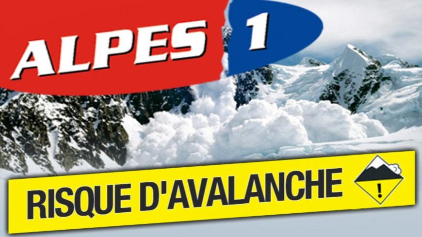 Alpes du Sud : risque d'avalanche de 2 sur une échelle de 5