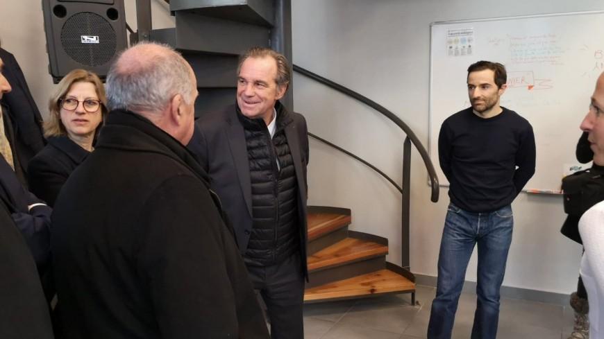 Hautes Alpes : Renaud Muselier en visite à Gap
