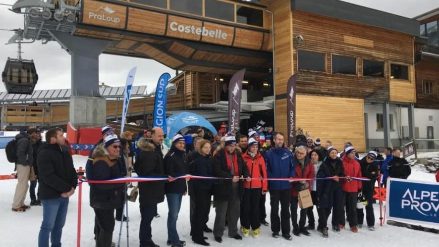 Alpes de Haute-Provence : inauguration du Télécabine de Costebelle à Pra Loup