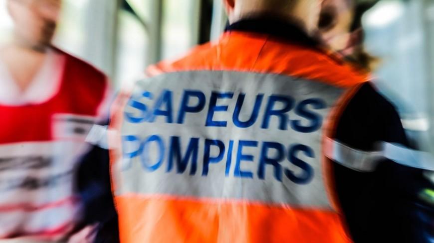 Hautes-Alpes : St Jean St Nicolas, il fait une sortie de route sa voiture prend feu