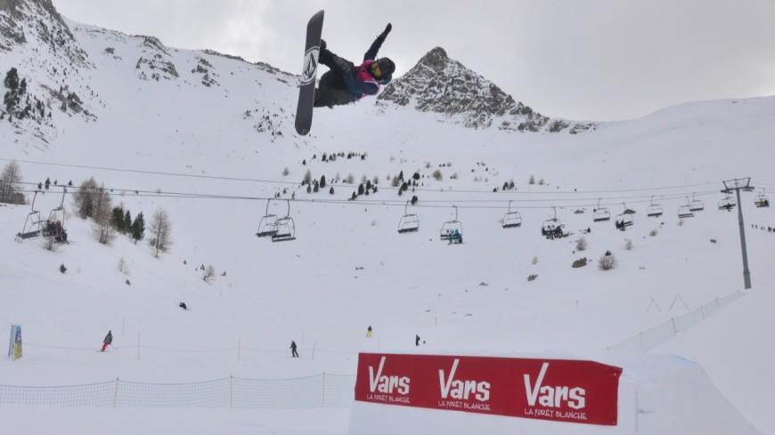 Hautes-Alpes : victoire du snowboardeur Sébastien Konijnenberg en Coupe d'Europe