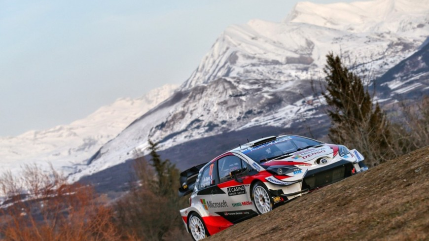 Alpes du Sud : Sébastien Ogier, début réussi avec la Toyota